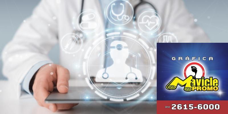 A saúde é um dos setores mais inovadores do Brasil   Guia da Farmácia   Imã de geladeira e Gráfica Mavicle Promo