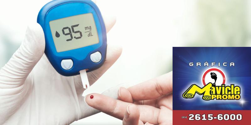 Os brasileiros não têm conhecimento sobre a diabetes   Guia da Farmácia   Imã de geladeira e Gráfica Mavicle Promo