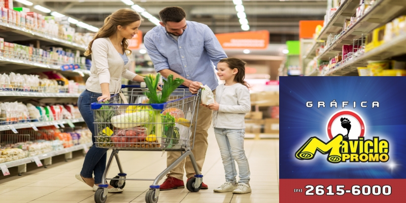 Supermercados e drogarias   o crescimento das vendas no varejo   Imã de geladeira e Gráfica Mavicle Promo