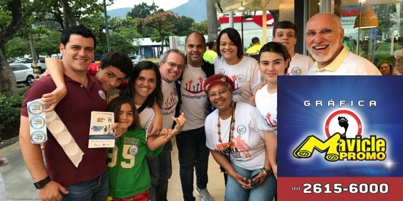 Solidariedade em favor de crianças com câncer   Guia da Farmácia   Imã de geladeira e Gráfica Mavicle Promo