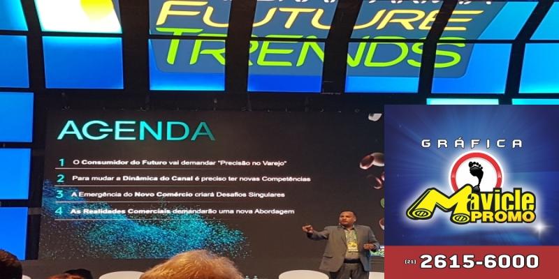 Novidades tecnológicas marcam o segundo e último dia da Future Trends   ASCOFERJ
