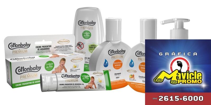 Cottonbaby aumenta a linha de cosméticos para crianças   Guia da Farmácia   Imã de geladeira e Gráfica Mavicle Promo