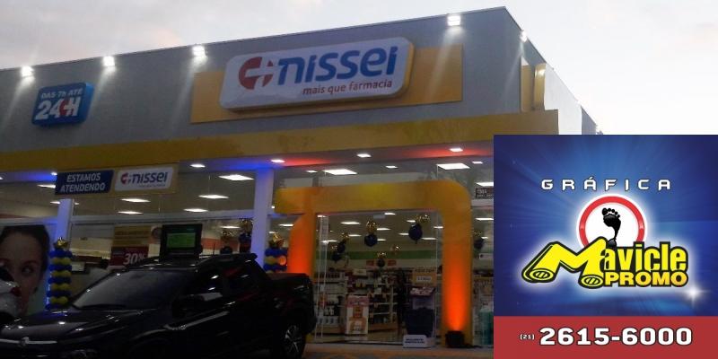 Nissei anuncia três novas lojas em novembro   Guia da Farmácia   Imã de geladeira e Gráfica Mavicle Promo