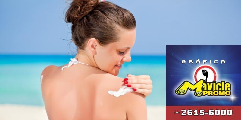 Quais são os cuidados com a pele no verão?   Guia da Farmácia   Imã de geladeira e Gráfica Mavicle Promo