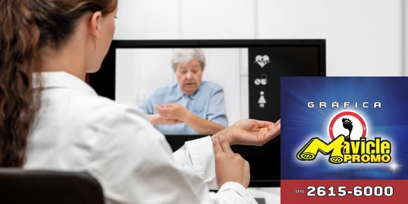 A Telemedicina está cada vez mais próxima no País   Guia da Farmácia   Imã de geladeira e Gráfica Mavicle Promo