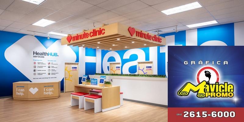 Novas lojas de CVS têm mais saúde e menos de varejo