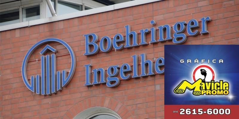 A Boehringer eleva benefícios e promove o investimento recorde em 2018   Imã de geladeira e Gráfica Mavicle Promo