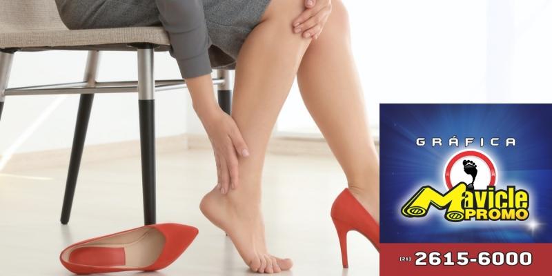Cedraflon traz plataforma on line para aqueles que sofrem de pernas cansadas   Imã de geladeira e Gráfica Mavicle Promo