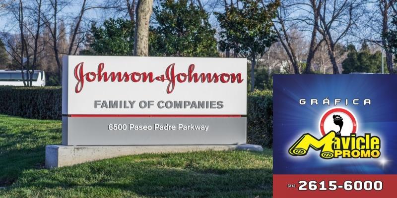 O lucro líquido da Johnson & Johnson cai 14% no primeiro trimestre   Imã de geladeira e Gráfica Mavicle Promo