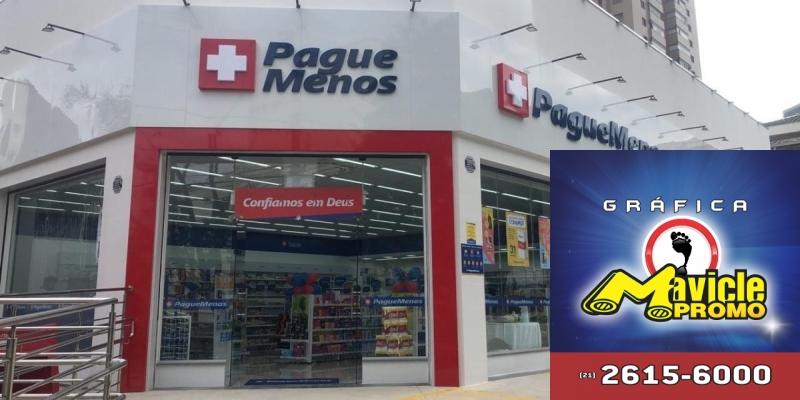 Pague Menos aposta em Minas Gerais, inaugura 76ª loja no Estado   Imã de geladeira e Gráfica Mavicle Promo