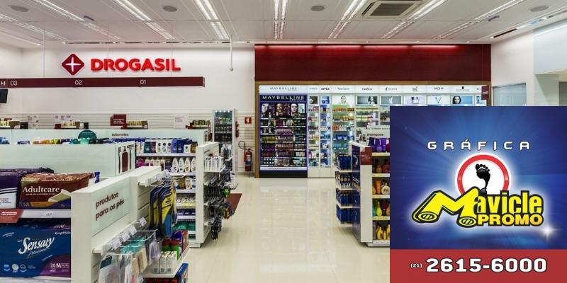RD comemora marca de 1.000 lojas com a bandeira Drogasil   Imã de geladeira e Gráfica Mavicle Promo