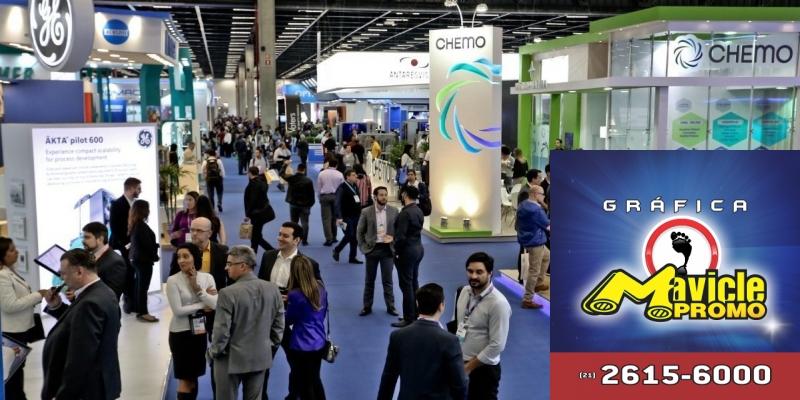 FCE Pharma: feira de tecnologia para a indústria farmacêutica começa hoje   Imã de geladeira e Gráfica Mavicle Promo