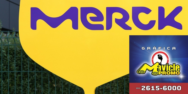 Merck aposta no desenvolvimento e fabricação de vacinas   Imã de geladeira e Gráfica Mavicle Promo